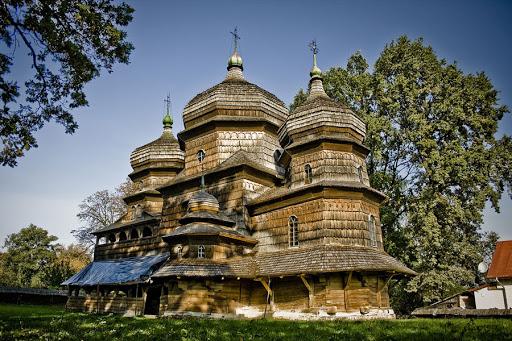 Музей дерев'яних церков в селі Пилипець