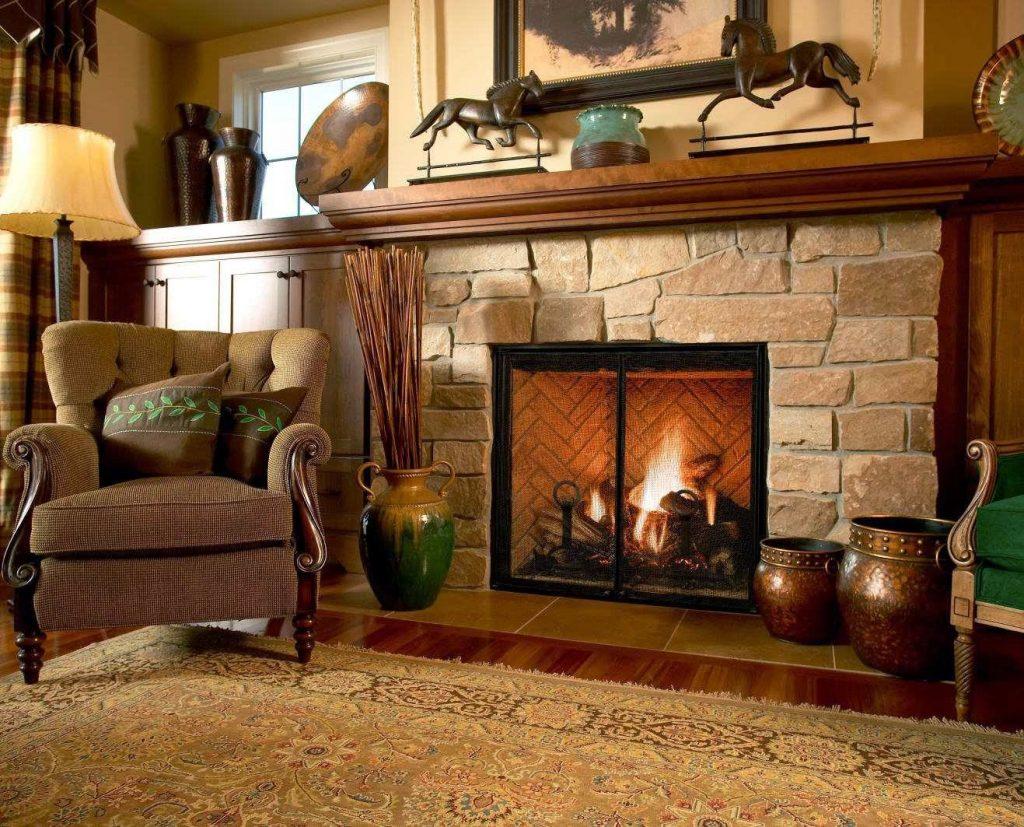 Дом с камином: для комфортного отдыха