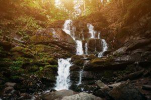 Ялинский водопад